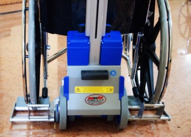 Silla sube escaleras eléctrica PT Plus - batería - Smart Motion S.A.S.