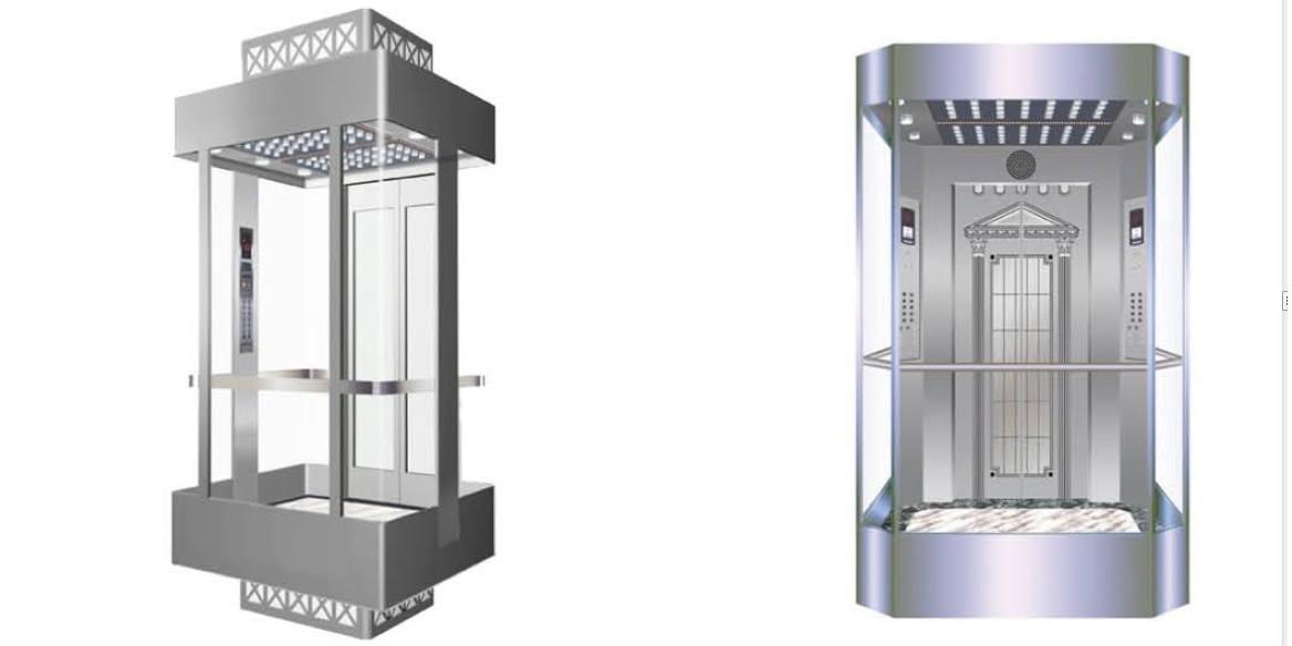 Ascensor automático de pasajeros - Panorámico - Smart Motion S.A.S