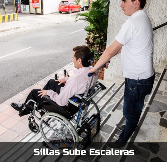 Sillas Sube Escaleras - Movilidad Discapacitados - Smart Motion SAS