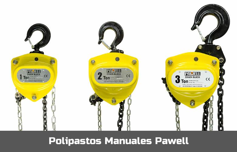 Polipastos Manuales Pawell