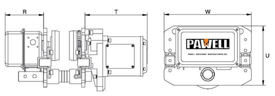 Trolley Eléctrico Medidas